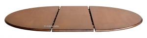 Tavolo Bicolore 'Stub' diametro 120 cm allungabile