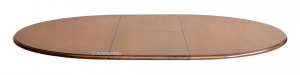 Tavolo Bicolore 'Stub' rotondo 110 cm allungabile