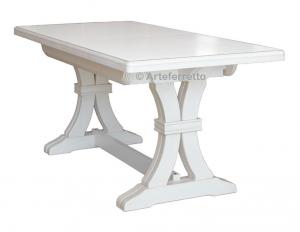 Tavolo allungabile solida struttura in massello 180-360 cm