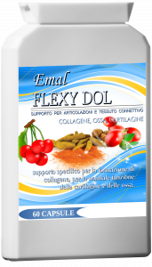 Emal FLEXY DOL formula speciale per ossa e cartilagine 60 capsule