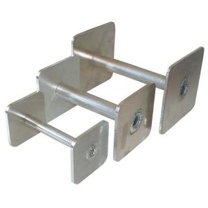 Riportello in metallo obedience, alluminio resistente