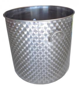 Mastello Inox da lt.350/lt.550/lt.820