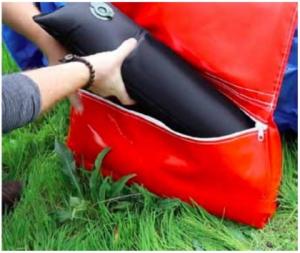 Water bag per sacchi sabbia ferma tunnel agility