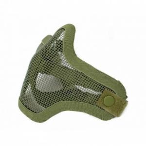 maschera protettiva a rete verde OD