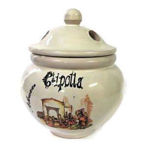 PORTA CIPOLLA in ceramica souvenir ABRUZZO