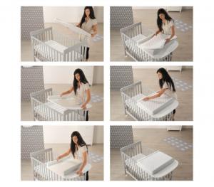 Piano fasciatoio homi baby space azzurra design