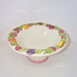 Alzatina Porta Frutta Ceramica