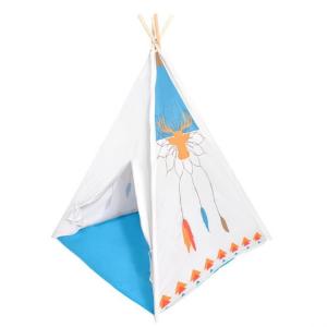 Ecotoys - tenda Teepee indiana da interni/esterni - colore grigio chiaro