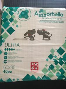 Assorbello Ultra con clorexidina 60x90 cm 40 pezzi