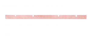 H 667 Gomma Tergipavimento POSTERIORE per lavapavimenti DULEVO - Till Series 3