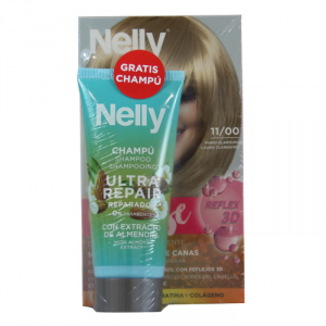 Nelly Dye Crème Intense 11.00 Very Light Blond Set 2 Parti