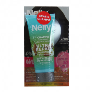 Nelly Dye Crème Intense 2.00 Intense Black Set 2 Parti
