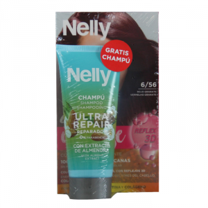 Nelly Dye Crème Intense 6.00 6.56 Red Garnet Set 2 Parti