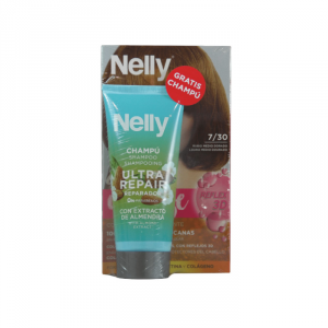 Nelly Dye Crème Intense 7.30 Medium Golden Blonde Set 2 Parti