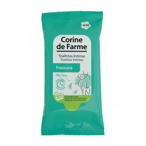 Corine de Farme Frescura Intimate Wipes 10 Unità