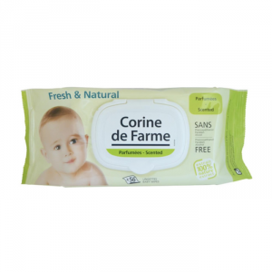 Corine De Farme Fresh & Natural Baby Wipes 56 Unità
