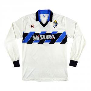 1988-89 Inter Maglia Away #5 R. Ferri Match worn L