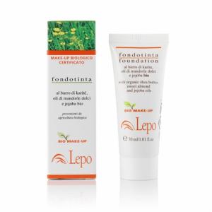 Fondotinta Biologico certificato 30 ml- Lepo - Pedrini Cosmetici