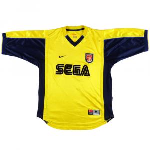1999-01 Arsenal maglia Away M
