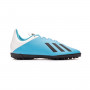 Scarpe Calcetto Adidas X 19.4 TF J Sky/Black/White