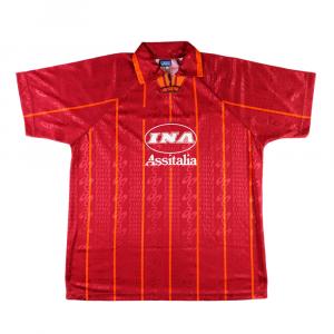 1996-97 Roma Maglia Home XL