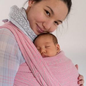 Baby Wrap Sling Lisca Raspberry Didymos
