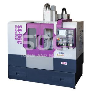 Fresatrice SOGI S4-80C CNC controllo numerico SIEMENS SINUMERIK 808D fresa centro di lavoro