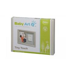 Tiny touch cornice con impronta colore stormy Baby art