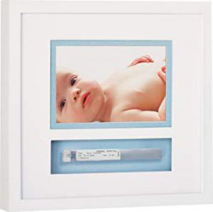 Baby Frame White ricordo del braccialetto nascita Pearhead