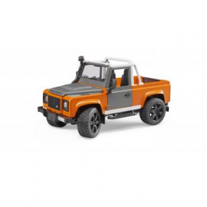 BRUDER LAND ROVER DEFENDER PICK UP  2591