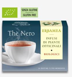 Thè Nero Biologico Erbamea 20 bustine filtro da 1,5 gr