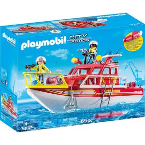 Barca dei Vigili del Fuoco