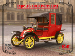 Type AG 1910 Paris Taxi