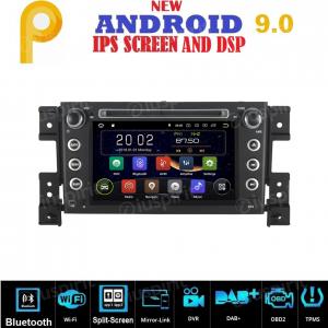 ANDROID 9.0 GPS DVD WI-FI Bluetooth Mirror-Link autoradio 2 DIN navigatore compatibile con Suzuki Grand Vitara 2006, 2007, 2008, 2009, 2010, 2011, 2012