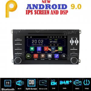 ANDROID 9.0 autoradio 2 DIN navigatore per Porsche Cayenne 2003-2010 GPS DVD WI-FI Bluetooth MirrorLink