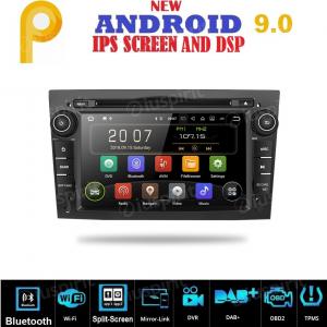 ANDROID 9.0 GPS DVD WI-FI Bluetooth Mirror-Link autoradio 2 DIN navigatore compatibile con Opel Corsa/Zafira/Meriva/Astra/Antara/Vivaro/Vectra/Tigra/Combo