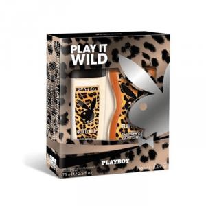 Playboy Play It Wild Her Deodorante Spray 75ml Set 2 Parti 2019