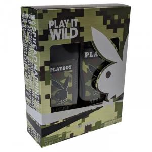 Playboy Play It Wild Him Deodorante Spray 75ml Set 2 Parti 2019