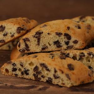 Biscotti Cantucci con gocce di cioccolato  -  300gr
