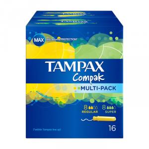 Tampax Compak Multipack 16 Unità