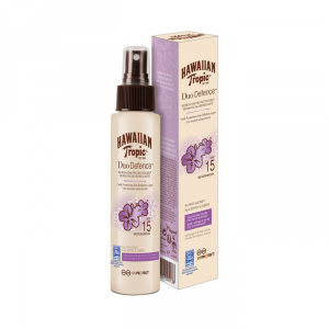 Hawaiian Tropic Duo Defence Crema Solare Spf15 Spray 100ml