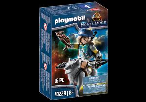 PLAYMOBIL BALESTRIERE DI NOVELMORE CON LUPO 70229