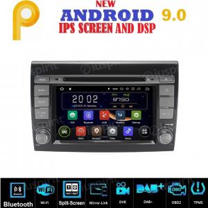 ANDROID 9.0 autoradio 2 DIN navigatore per Fiat Bravo 2007 - 2014 GPS DVD WI-FI Bluetooth MirrorLink