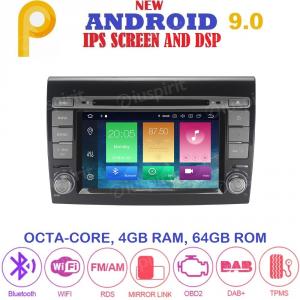 ANDROID 9.0 autoradio 2 DIN navigatore per Fiat Bravo 2007-2014 GPS DVD WI-FI Bluetooth MirrorLink