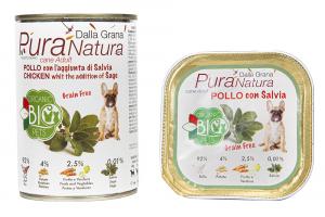 Bio Pura Natura Pollo con aggiunta di Salvia