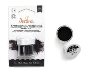 Polvere colorata nero