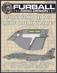 F-14 Tail Reinforcement Plates
