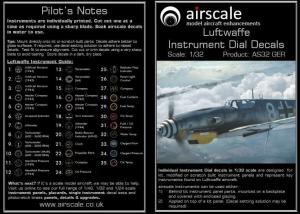 LUFTWAFFE Cockpit Instruments