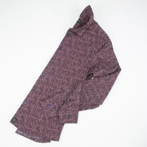 Camicia in microfantasia, cotone Karl Mommoo
