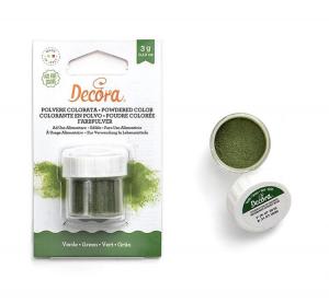 Polvere colorata verde - Perlescente